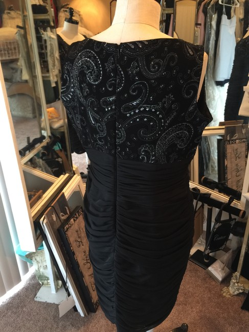 Black Dress Stretchy Extra Large Plus Size Dress Image 3