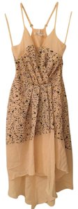 BCBGeneration short dress Peach/blue multicolor on Tradesy