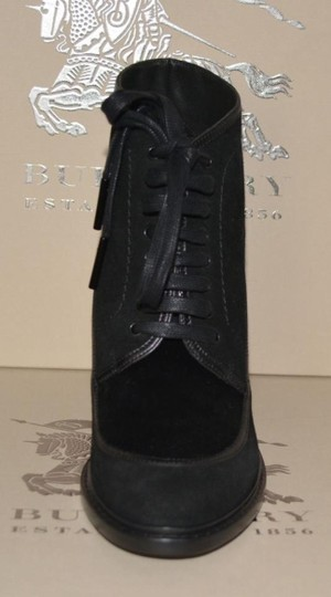 Burberry Prorsum Suede Ankle Black Boots Image 8
