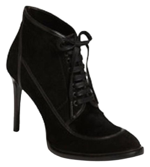 Burberry Prorsum Suede Ankle Black Boots Image 1