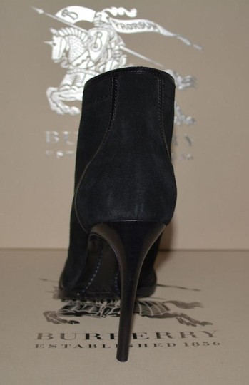 Burberry Prorsum Suede Ankle Black Boots Image 7