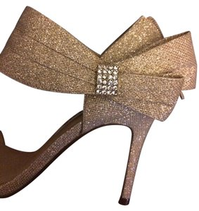 Nina Shoes Champagne Wedding Gold Formal