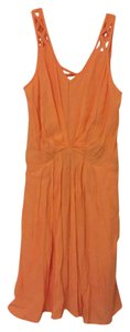 BCBGeneration short dress Peach on Tradesy