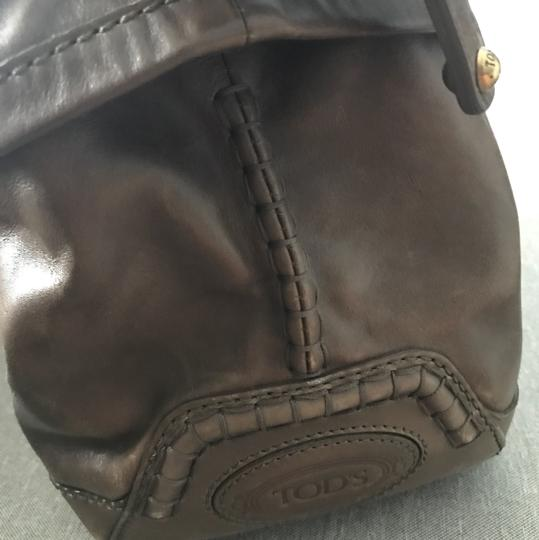 Tod's Tote in Brown Image 5