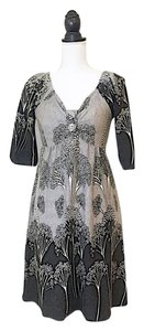 Aryeh short dress gray on Tradesy