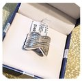 2 Carats .925 Sterling Silver 2 Carats set in Sterling Silver Image 6