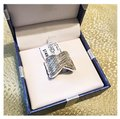 2 Carats .925 Sterling Silver 2 Carats set in Sterling Silver Image 7