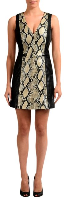 Just Cavalli Multi-color V-7218 Short Casual Dress Size 4 (S) Just Cavalli Multi-color V-7218 Short Casual Dress Size 4 (S) Image 1