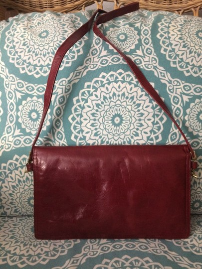 Italpell Vintage red Clutch Image 1