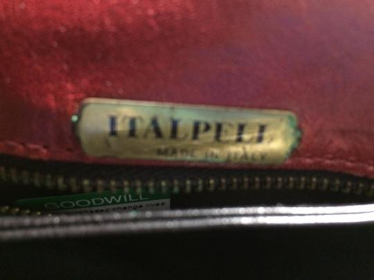 Italpell Vintage red Clutch Image 3