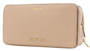 Michael Kors Mercer Travel Leather Cosmetic Pouch 32H6SM9M3L NWT