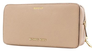 Michael Kors Mercer Travel Leather Cosmetic Pouch 32H6SM9M3L
