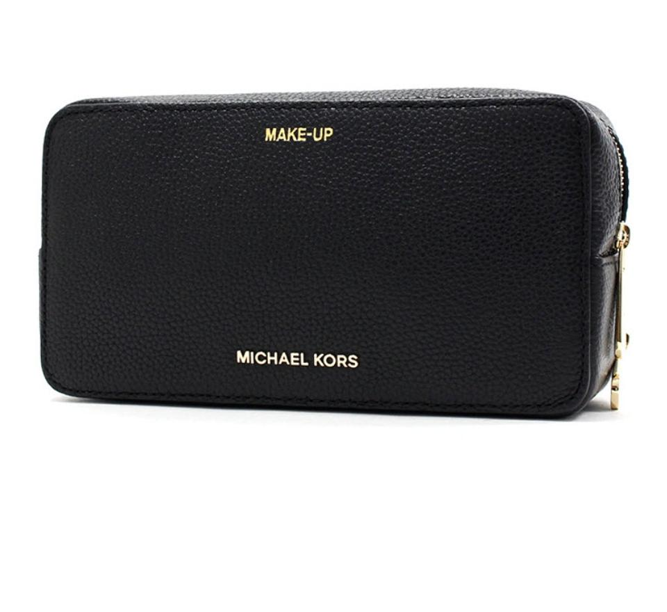 2b1b3586a2af MICHAEL MICHAEL KORS Michael kors Ginny Embossed-leather Crossbody Lyst Michael  Kors Makeup Cosmetic Bags - Up to 70% off at Trades ...