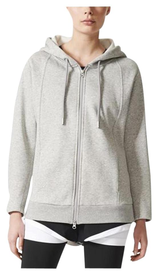 0f804241e adidas By Stella McCartney Adidas By Stella McCartney Grey Women's  Essentials Hoodie Multi-Sport Image ...