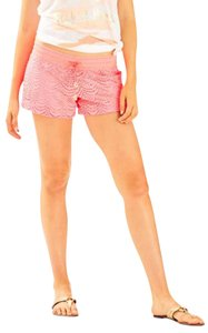 Lilly Pulitzer Summer Beach Sexy Pool Mini/Short Shorts Coral