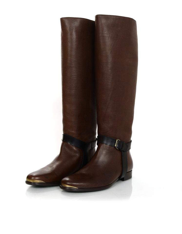 hot sales limpid in sight latest selection of 2019 Brown Riding Boots/Booties
