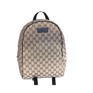 b4f723ab Gucci 449906 Gg Guccissima Rucksack Travel Beige/Brown Canvas ...