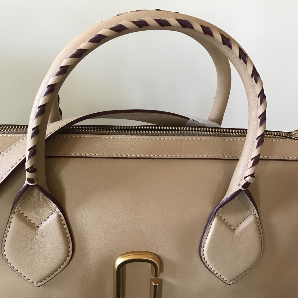 50d055c5033d Marc Jacobs Noho Medium East-west Sand Smooth Calfskin Tote - Tradesy