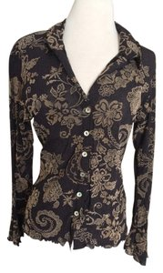 Other Vintage Top Black and tan
