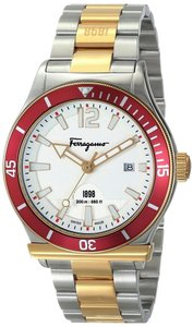 Salvatore Ferragamo NEW MEN'S SALVATORE FERRAGAMO (FF3140014) 1898 SWISS ROSE GOLD WATCH