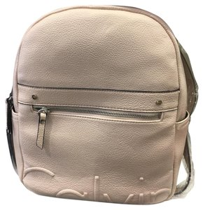 2733bea52 Calvin Klein Faux Leather Backpack - Tradesy