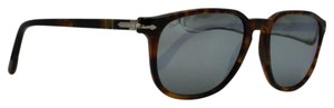 Persol Square Cafe Mirrored Havana Sunglasses 3019-S 108/30