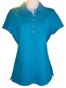 Tommy Hilfiger Polo With Logo Top blue