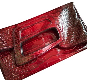 United Colors of Benetton Red Clutch