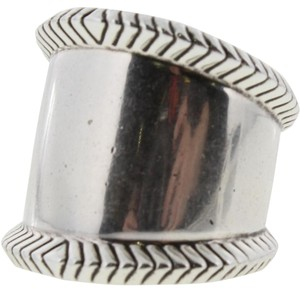 House of Harlow 1960 Nicole Richie Womens Tambo River Silver Cigar Band Ring 8