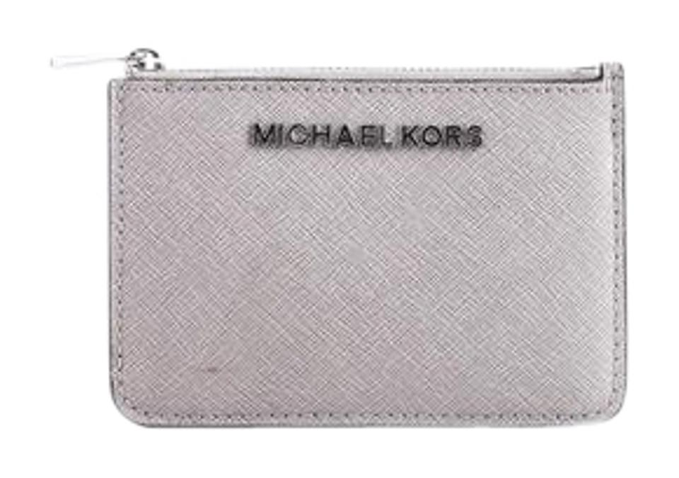 c7eb48032f76 Michael Kors   Michael Kors Jet Set Small Top Zip Coin Pouch with ID Holder  Image ...