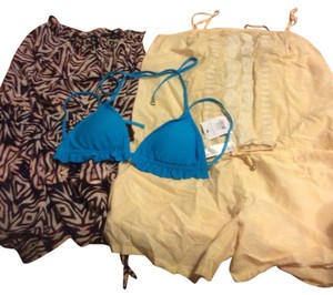 TopShop Beach set includes bikini top with 2 rompers