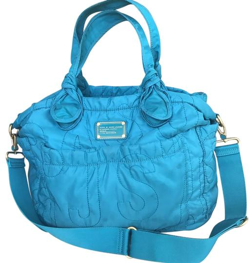 marc jacobs eliz a turquoise diaper bag on tradesy. Black Bedroom Furniture Sets. Home Design Ideas