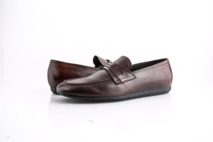 Prada Brown * Leather Loafers Shoes