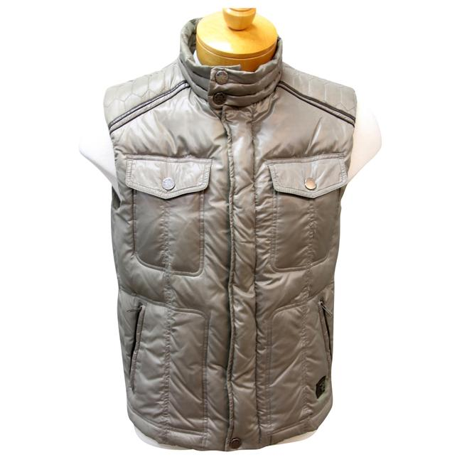Trussardi Jeans Puff Jackets Puffer Italian Armani Exchange Vest Image 0