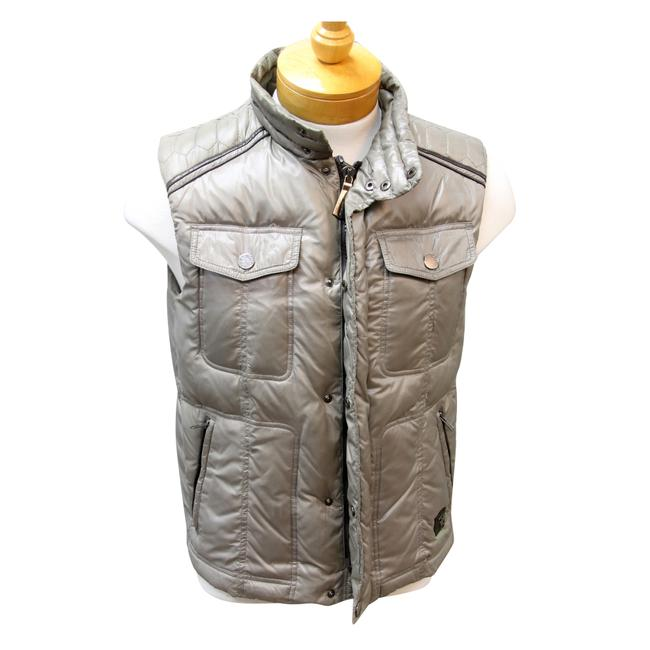 Trussardi Jeans Puff Jackets Puffer Italian Armani Exchange Vest Image 1