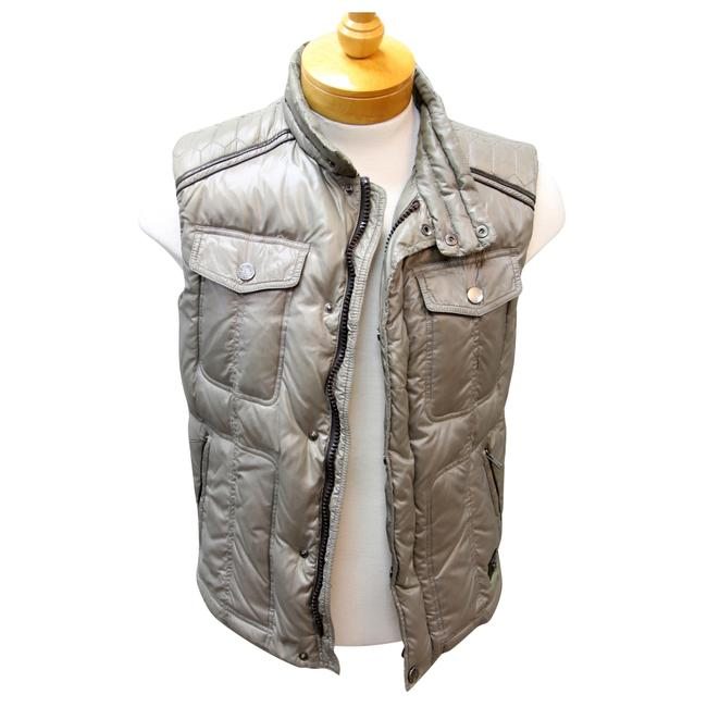 Trussardi Jeans Puff Jackets Puffer Italian Armani Exchange Vest Image 2
