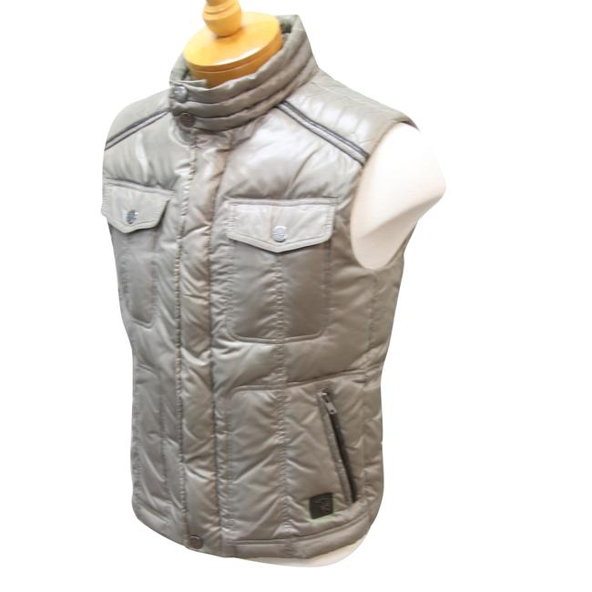 Trussardi Jeans Puff Jackets Puffer Italian Armani Exchange Vest Image 3