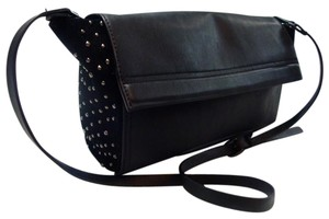 Zara Trapeze Faux Leather Cross Body Bag