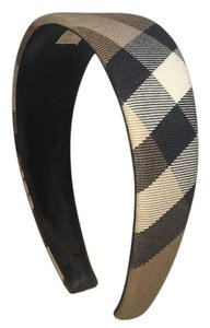 Burberry quilted headband