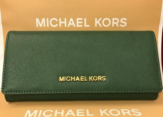 Michael Kors Michael Kors Jet set carryall Leather Wallet silver Image 2