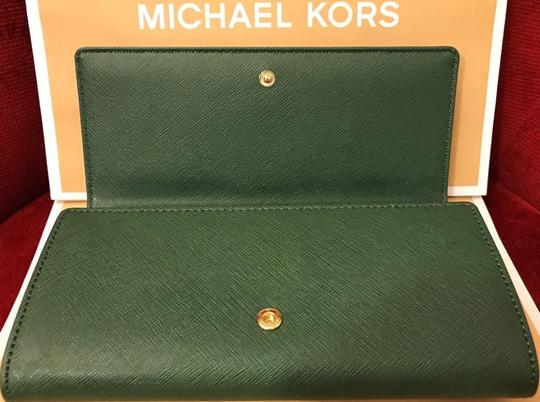 Michael Kors Michael Kors Jet set carryall Leather Wallet silver Image 6