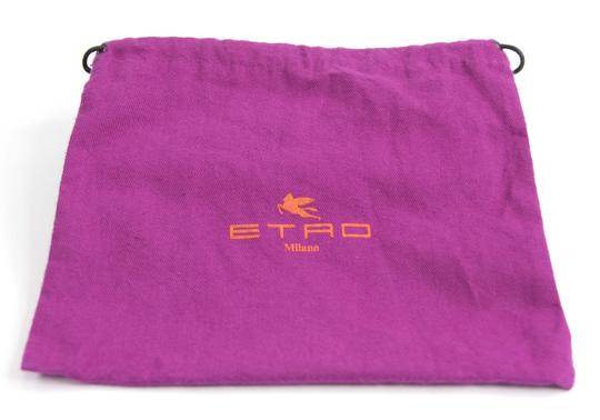 Etro Etro Paisley Embossed Leather large Trifold Wallet Made In Italy Image 3