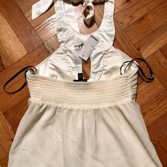 bebe Top Off White Image 2