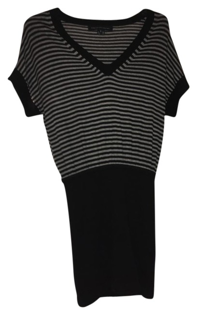 Preload https://img-static.tradesy.com/item/22119221/french-connection-black-and-gray-mid-length-night-out-dress-size-4-s-0-1-650-650.jpg