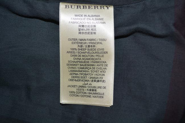 Burberry Leather Leather Suede Black Jacket Image 11