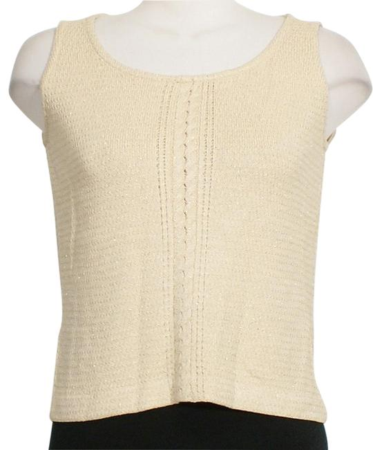 Preload https://img-static.tradesy.com/item/22119325/st-john-gold-shimmer-textured-wool-knit-cable-accent-sleeveless-shell-tank-topcami-size-6-s-0-1-650-650.jpg