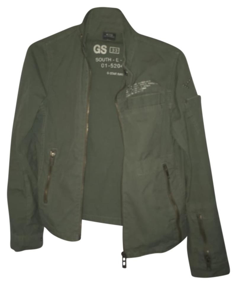 g star raw green jacket size 4 s tradesy. Black Bedroom Furniture Sets. Home Design Ideas