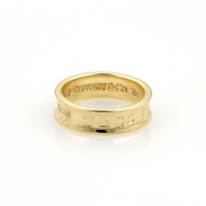 Tiffany & Co. Tiffany & Co. 1837 Collection 18k Yellow Gold 6mm Band Ring Size 6.75