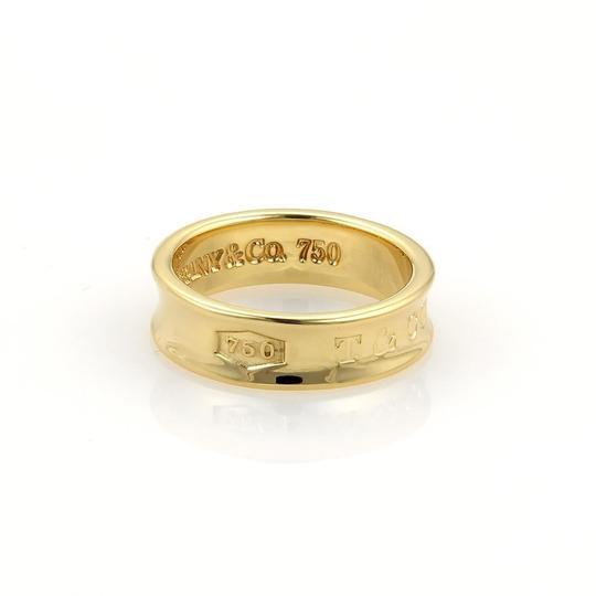 Tiffany & Co. Tiffany & Co. 1837 Collection 18k Yellow Gold 6mm Band Ring Size 6.75 Image 1