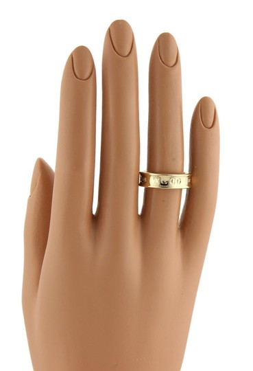 Tiffany & Co. Tiffany & Co. 1837 Collection 18k Yellow Gold 6mm Band Ring Size 6.75 Image 4